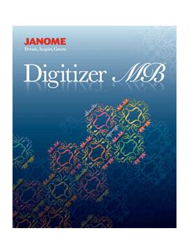 Programa De Criação De Bordados Janome Digitizer Mb Mundo Dos Bordados